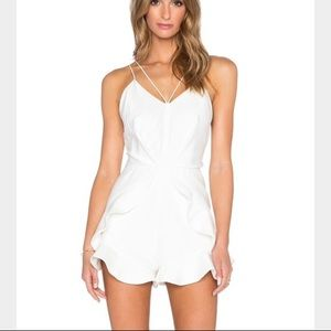 C/MEO Superstition Romper in Ivory